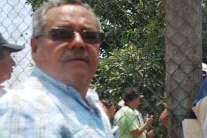 Felipe Vega, comisariado del ejido Melchor Ocampo