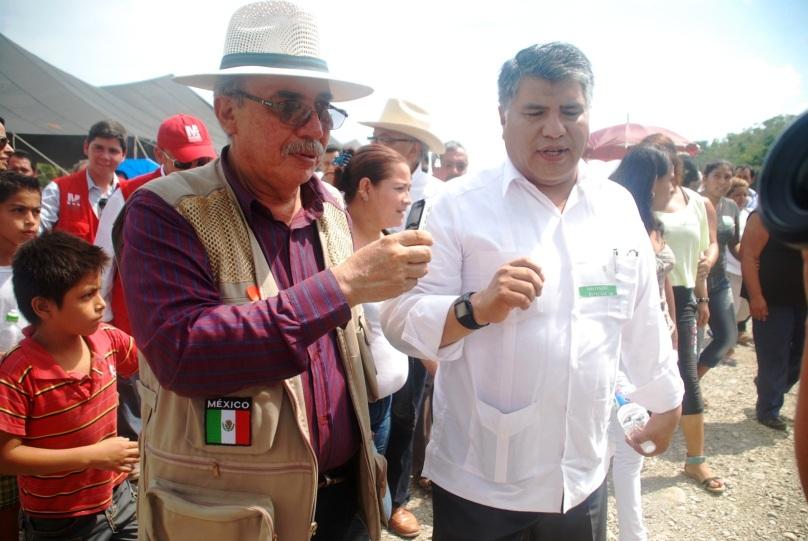 Sierra con Carlos Juan