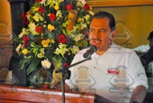 Secretario General del  Comité Central de la CROM, Rodolfo González Guzmán