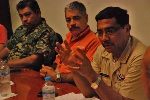 Comandante  X Zona Naval, Director de APILAC y Capitán de Puerto LZC