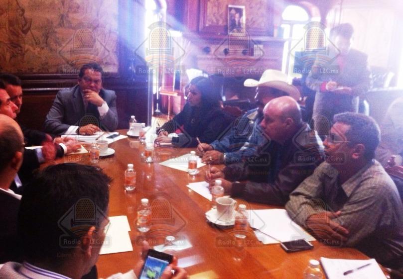 mesa de negociaciones