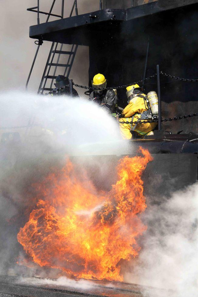 bombero puerto