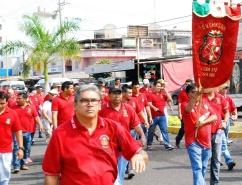 Mineros Conmemoran una Década de Mártires de LZC