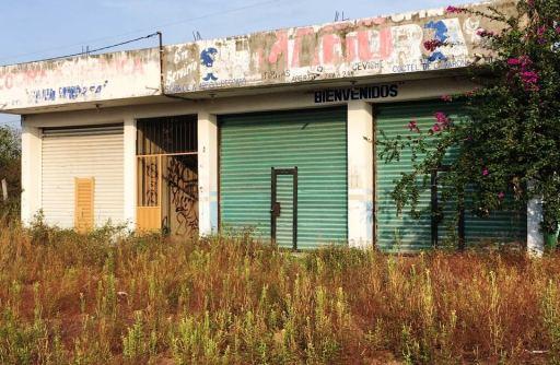 locales abandonados