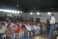Diputado Federal Víctor Silva Tejeda en reunión con priístas de LZC