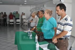 Comté en funciones: J. Isabel Ponce lópez, Comisariado; presidente de Consejo de vigilancia, Jesús Galeana; tesorera, Rosalía Lira Garibo y Secretario, Miguel Guillen Valladares.