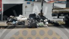 basura en calle